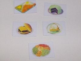 EF001 American Diner Reklametafeln Set 1