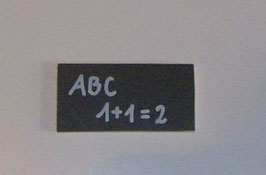 EF034 Schultafel klein 6 x 3 cm