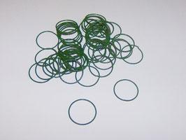 EF039 Nelkenringe 20mm grün 20g ca. 50-60 Stück