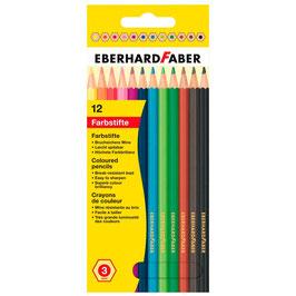 EF097 12 EBERHARD FABER Buntstifte farbsortiert