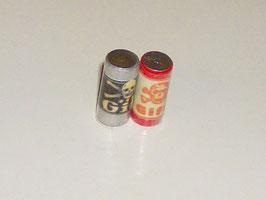 """EF015 Dosen mit """"Gift"""" 2 Stück 2cm hoch"""