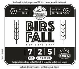 Birsfallbier 725 - 6 x 33 cl
