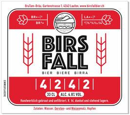 Birsfallbier 4242 - 6 x 33 cl