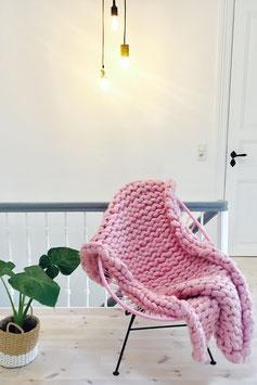 Chunky Wool Blanket - flauschige Wolldecke - Gr. S