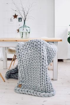 Chunky Wool Blanket - geliebteste Wolldecke - Gr. L