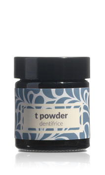 t powder – dentifrice