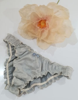 Froufrou chambray gris clair