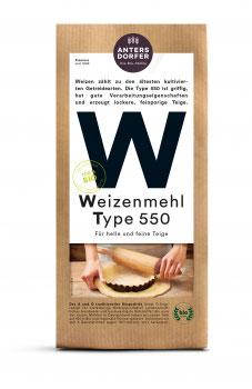 WEIZENMEHL 1KG TYPE 550 A0121