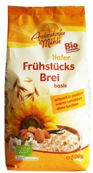 BIO FRÜHSTÜCKSBREI HAFER BASIS 500G  AM06406