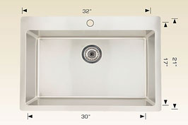 T208037  Drop In / Flush Mount