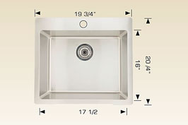 T208023  Drop In / Flush Mount