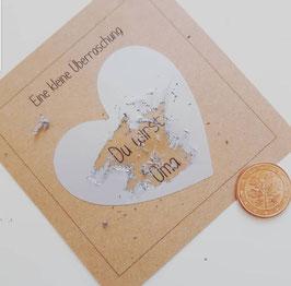 Rubbelkarte zur Babyverkündung