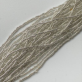10-005)BEADS (SILVER LINE TUBE1×1 ) SB003