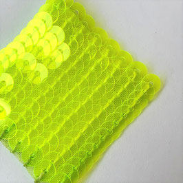 3-012) PAILLETTES (NEON YELLOW CLEAR)YP016④