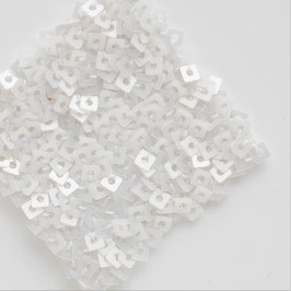1-003)NEW SQUARE PAILLETTES(PEARL WHITE)WP006②
