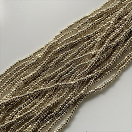 10-006)BEADS (SILVER CHARLOTTE13/0)  SB002