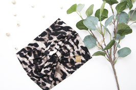"BIG TURBAN ""LEOPARD PRINT"""