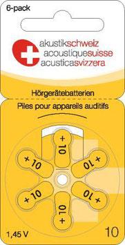 Hörgerätebatterien P10