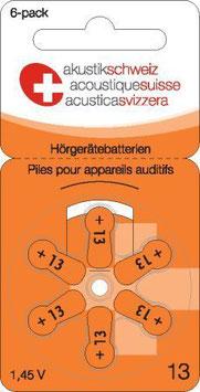 Hörgerätebatterien P13