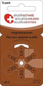 Hörgerätebatterien P312