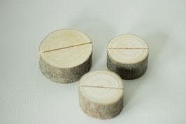 Platzkartenhalter Baumscheibe 9 Stück