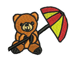 Stickdatei Teddy 1-F-009