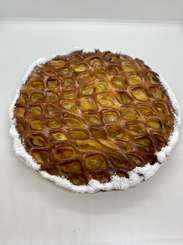 tartes abricot treillée