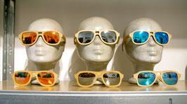Sonnenbrille aus Bambus