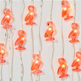 guirlande flamingo led 3m