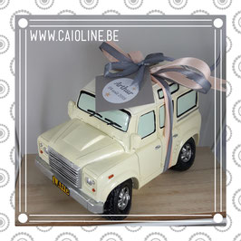 Tirelire SUV jeep