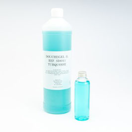 Gel douche 1L - turquoise