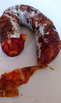 Salsiccia piccantissima