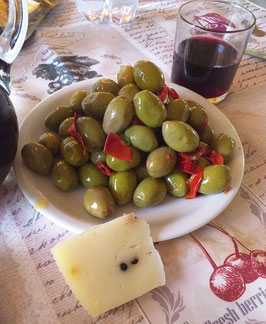 Olive piccanti con peperoncino a rondelle 500 gr