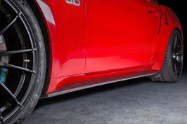 Mustang Carbon Fiber Side Skirt Set L/R