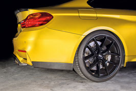 BMW Carbon Fiber Rear Skirt M4 F82 Set L/R