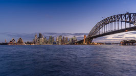Sydney Skyline und Harbour Bridge