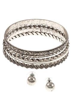 Bracelet Style: MA23-128332 Antique Silver