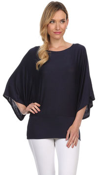 J-Mode Maternity Top Model T2490 Navy Blue