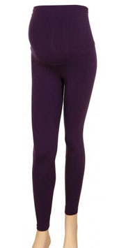 Gregx Maternity Leggings - Purple