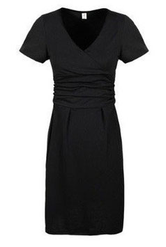 Grace Maternity Dress DR99 - Black