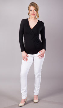 "Gregx Maternity Jeans ""Gemo"" - White"