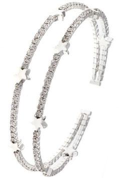 Bracelet Style: C29-127892 Silver