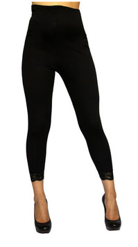 TM Maternity Leggings Model 6003 - Black