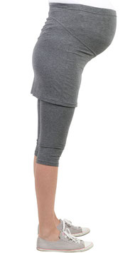be! Maternity Skirt-Leggings - Grey
