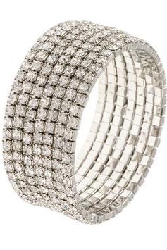 Bracelet Style:B129233 Rhodium