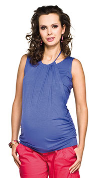 "Torelle Maternity Top ""Perla"" - Blue"