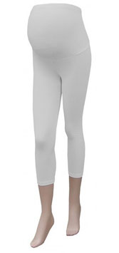Gregx Maternity 3/4 Leggings - White