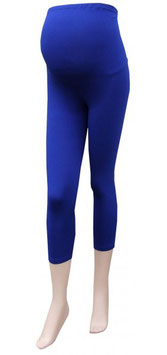 Gregx Maternity 3/4 Leggings - Cornflower