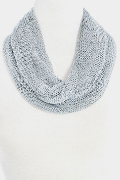 Scarf Style: Q122411 Silver