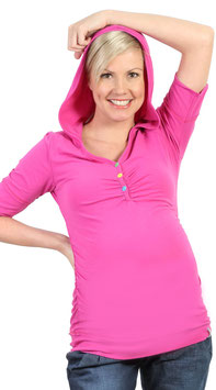 "be! Maternity Top ""Iman"" Pink"